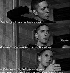 Listen to every Eminem track @ Iomoio Xxxtentacion Quotes, Rapper Quotes, Real Quotes, Mood Quotes, Music Quotes, Life Quotes, Eminem Love Quotes, Eminem Memes, Eminem Lyrics