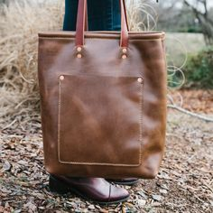 Leather Tote | Loyal Stricklin