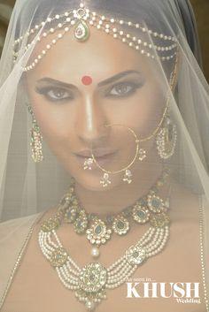 Beautiful traditional bridal jewellery