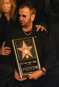 Ringo Receives his star on the Hollywood walk of fame