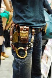 steampunk accessories belt...