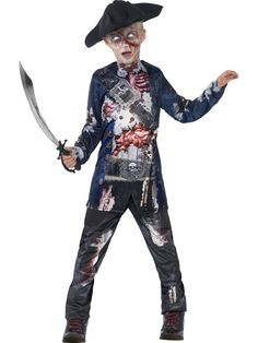 Boys Halloween Scary Fancy Party Costume Outfit Deluxe Jolly Rotten Pirate Dress - with difficult people deal Halloween Outfits, Childrens Halloween Costumes, Halloween Costume Accessories, Boy Costumes, Halloween Kids, Halloween Night, Halloween Parties, Pirate Fancy Dress, Halloween Fancy Dress