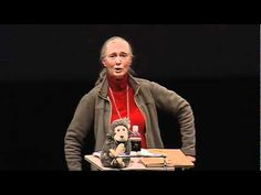 """TED talks   JaneGoodall   2002. a must watch. """"Did you know we are bringing little babies into a world where in many places the water is poisoning them and the air is harming them and the food thats grown from the contaminated land is poisoning them and thats not just in the far away developing world. That's everywhere. Do you know we have about fifty chemicals in our bodies that we didn't have in our bodies about fifty years ago?..."""""""