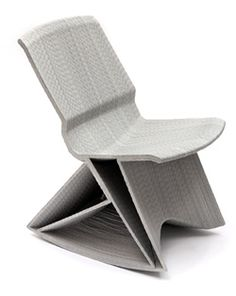Dirk Vander Kooij - An original prototype of the Endless Pulse rocking chair, designed by Dirk Vander Kooij and made in 2010, is part of the Zetel collection and will be auctioned off.