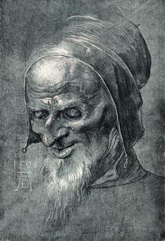 Dürer | Bild: Albrecht Dürer - Albrecht Dürer, Head of an Apostle