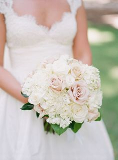 Hydrangea Wedding Bouquet~  we ❤ this! moncheribridals.com