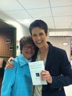 "Sister Helen Prejean & Rachel Maddow. Rachel Anne Maddow is an American television host, political commentator, and author. She hosts a nightly television show, The Rachel Maddow Show, on MSNBC. Her syndicated talk radio program of the same name aired on Air America Radio. Dr. Maddow, a Rhodes scholar and graduate of Stanford and Oxford Universities Favorite Quote: ""I'm undoubtedly a liberal, which means that I'm in almost total agreement with the Eisenhower-era Republican party platform."""