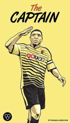 Troy Deeney  Watford FC  Art Print