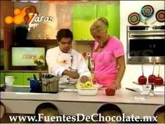 Manzanas enchiladas chocolate caramelo cubiertas en Venta DF Dulces para Fiestas