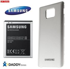 GENUINE SAMSUNG GALAXY S 2 i9100 EXTENDED BATTERY KIT WHITE NEW - 32 $