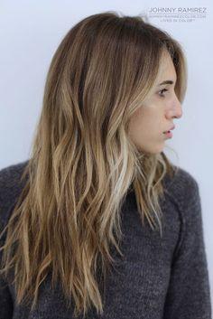 My hair color creation Hair Color by Johnny Ramirez • IG: @johnnyramirez1 • Appointment inquiries please call Ramirez Tran Salon in Beverly Hills at 310.724.8167. #hair #besthair #Brunettehair #johnnyramirez #highlights #model #ramireztransalon #bestsalon #beauty #lahair #highlights #caramel #salon #beautifulhair #ramireztran #ramireztransalon #johnnyramirez #sexyhair #livedinhair #livedincolor #brunette