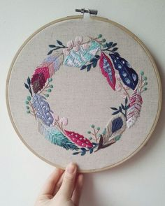 Supreme Best Stitches In Embroidery Ideas. Spectacular Best Stitches In Embroidery Ideas. Contemporary Embroidery, Modern Embroidery, Ribbon Embroidery, Cross Stitch Embroidery, Hand Embroidery Patterns, Machine Embroidery, Satin Stitch, Embroidery Techniques, Couture
