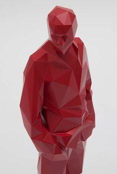 Xavier Veilhan: Polyurethane sculpture. Image courtesy of Galerie Perrotin.