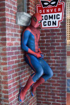 Spider Man Chillin by JOSheaIV.deviantart.com