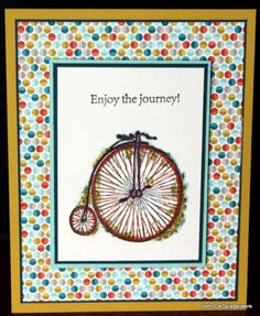 Feeling Sentimental Bicycle by mycatbillybob - Cards and Paper Crafts at Splitcoaststampers