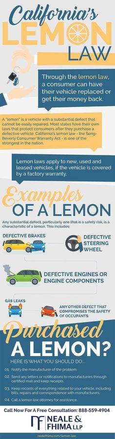 Lemon Law California >> 11 Best Lemon Law Images Lemon Law Law Lemon