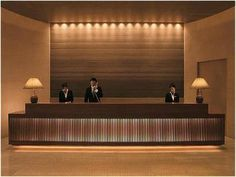 ホテル フロント | ザ・ペニンシュラ東京 JR・航空 ...