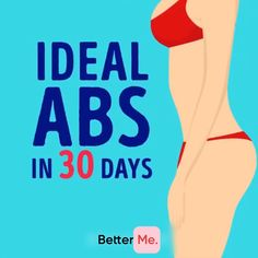 A workout for you to get perfect ABS! Exercises were created to reduce the size of the belly quick and easy! Do it and enjoy the results just in 30 days! #fatburn #burnfat #gym #athomeworkouts #exercises #weightlosstransformation #exercise #exercisefitness #weightloss #health #fitness #loseweight #workout