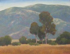 Jennifer Boswell Original California Impressionist Landscape Oil Painting 16x20. $650.00, via Etsy.