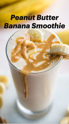 Fruit Smoothie Recipes, Yummy Smoothies, Healthy Strawberry Banana Smoothie, Smoothies For Breakfast, Dairy Free Smoothie, Healthy Peanut Butter Smoothie, Healthy Coffee Smoothie, Healthy Breakfast Smoothie Recipes, Delicious Smoothie Recipes