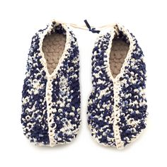 Knitted cotton slippers - Accessories - Fashion