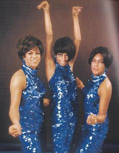 The Supremes. They remind me of the Dynamites from Hairspray!
