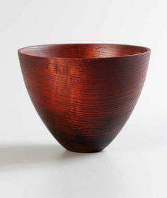 """Merryll Saylan Ashen, 2010/2013 Charred Ash, Dye, Oil Color Glaze 4""""h x 5""""dia"""