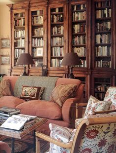 Beautiful books and shelves! - AESTHETICALLY THINKING