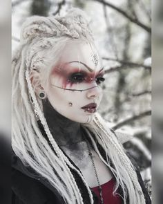 /RANT\ The last pic hit and so did my account. 🙏🏻🍃 I received so many nice comments it's… Cosplay Makeup, Costume Makeup, Viking Makeup, Warrior Makeup, Tribal Makeup, Witch Makeup, Halloween Makeup Looks, Fantasy Makeup, Face Art