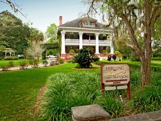 Listed on the National Register of Historic Places, the Herlong Mansion Historic Inn and Gardens has a long and interesting history that dates back to the early 1800's. Historical Micanopy, Florida #Wedding venue.