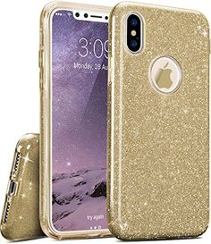 TOZO iPhone X Case, SHINY [Bling Crystal] Ultra Thin Sparkle Premium 3 Layer Hybrid TPU Soft Grip –  https://topcellulardeals.com/product/tozo-iphone-x-case-shiny-bling-crystal-ultra-thin-sparkle-premium-3-layer-hybrid-tpu-soft-grip/  Shiny Bling Sparkle 3 Layer case. Sparkle Shiny Flash Design, with Bling Fashion Looks Preferable Material & Exquisite Technology, elegant, Luxury and Fashional. TPU Soft Shell (Outer) + Flash of Silver Film (Middle) + Transparent PC Frost