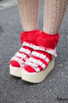 Tokyo Fashion: #shoes #harajuku    I HAVE BEEN WANTING THESE FOREVER