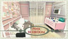 Dinha Gamer: Pink Bedroom • Sims 4 Downloads