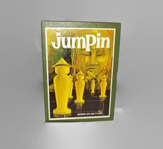 Vintage 1964 Jumpin Game, Complete, Two Player, Pawns, Book Shelf Game, Team Play, Strategy, Family Game Night by JandDsAtticTreasures on Etsy
