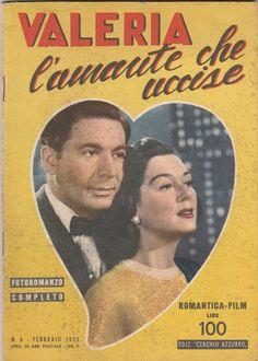 Romantica Film Valeria l'amante che uccise con R. Russell, L. Genn, 1955 -L5286