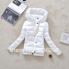Free shipping 2014 new spring women's slim cotton-padded jacket PU solid color shiny small cotton-padded jacket US $35.00