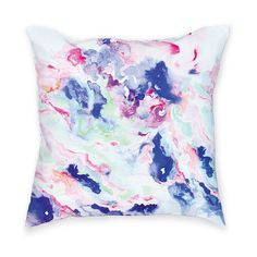 My design inspiration: Marble Throw Pillow on Fab.