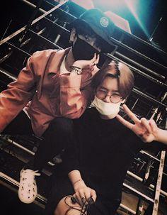yesung twitter update (with baekhyun) ---------------- Duet ..?