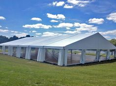 Perfect wedding tent by A Classic Party Rental