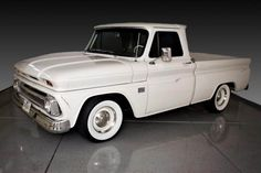 a Sterile 65' Chevy truck...  this is the turck i want but painted carolina blue and the white walls are a must have :)