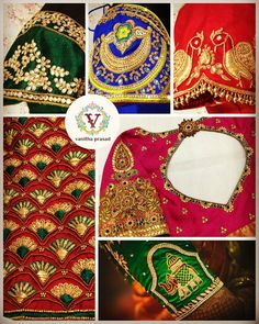 What s up your sleeve? Embroidered bridal blouses