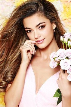 Miss Universe 2017 Is South Africa! This year's Miss Universe pageant had a record high at 92 contestants, and the judges selected just one of these strong competitors to take the ultimate crown! Our 66th Miss Universe is Demi-Leigh Nel-Peters, Miss South Africa! Click to read more about our new Miss Universe! Two-piece Dresses, dress, clothe, women's fashion, outfit inspiration, pretty clothes, shoes, bags and accessories