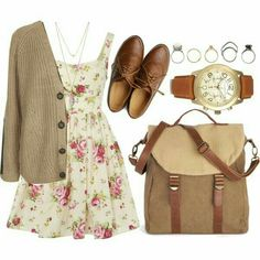 15 Outfit Ideas to Wear a Pretty Dress - Pretty Designs 2020 - vintage summer outfits outfits vintage shorts vintage dress vintage fashion vintage outfits summer beach dress summer beach wear summer dress flowers - Vintage Outfits Look Fashion, Autumn Fashion, Fashion Outfits, Womens Fashion, Fashion Trends, Dress Fashion, Nerd Fashion, Fashion News, Fall Outfits