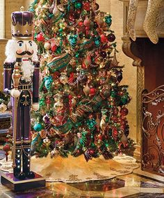 Add a commanding presence that transforms any room into a stage for holiday magic