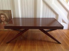 UNIQUE RARE Mid Century Modern Castro Table by FishInTheAtticStudio, $950.00 Home Decor Furniture Decorating