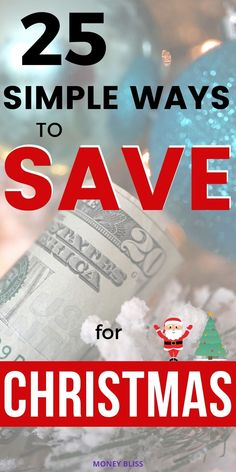 This is exactly how to save for Christmas! This money saving post from Money Bliss will make sure you are prepared for the joyful holiday season. Learn why saving is important, how to make a Christmas budget, and use a Christmas savings account. Click here and download your free Christmas budget and gift planner. Best After Christmas Sales, Saving Money For Christmas, Christmas Savings Plan, Christmas Planning, Christmas On A Budget, Email Christmas Cards, Christmas Worksheets, Budget Holidays, Holiday Stress