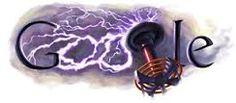 Anniversary of the birth of the great Nikola Tesla Google Gif, Google Page, Logo Google, Art Google, Online Web Design, Web Design Company, Google Doodles, Nikola Tesla Birthday, Nicolas Tesla