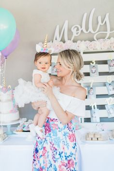 Oh my gosh you guys our baby girl turns one today! I'm so excited to share all the details form her unicorn birthday party! But first, I need to let out some tears! I've already been an emotional wreck today. I thought I was totally fine and then I got an email from a baby …