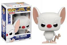 #transformer ko pop animation pinky & the brain: brain vinyl [figure] by funko
