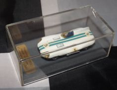 HANDMADE 1/72 PICCOLINO JAGUAR D TYPE CUNNINGHAM LE MANS 1955 CASED MODEL CAR #Piccolino #Jaguar